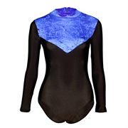starlite toto leotard royal