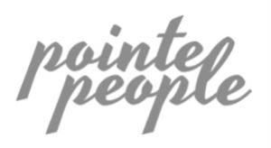 Pointe People logo greyscale